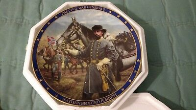 The Civil War Generals Plate Collection Nathan Bedford Forrest By Michael Gnatek