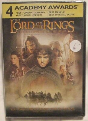 The Lord of the Rings : The Fellowship of the Ring (DVD, 2002) Brand new