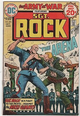 Our Army At War #273 In Fine+ 6.5 Condition (Oct, 1974, DC)