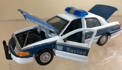 Boston Massachusetts MA Police Gearbox 1:43 Chip Paint / Missing Taillight