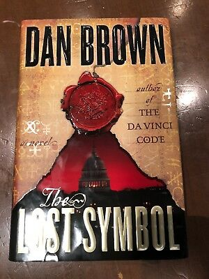 Robert Langdon The Lost Symbol By Dan Brown 2009 Hardcover 1st