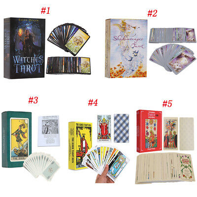 Witches Tarot Deck Сard Rider-Waite Smith English Version 78 Cards Gift AU STOCK