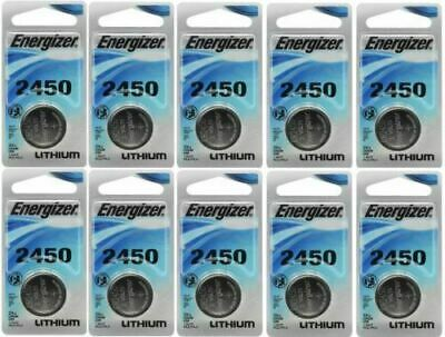 30 Pcs Energizer CR2450 ECR2450 CR 2450 3V Lithium Coin Cell Button Battery