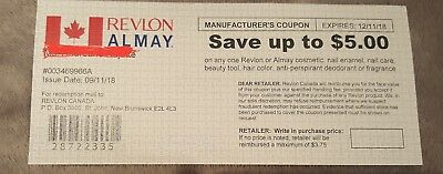 Save Up To 5.00$ On Revlon/almay