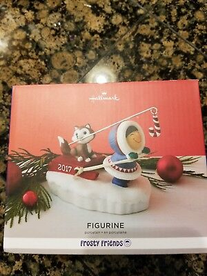 NIB Hallmark 2017 Frosty Friends Christmas Figurine