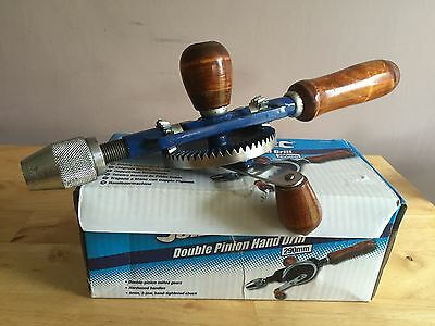 Silverline Double Pinion Hand Drill 290mm  - Used Once Only