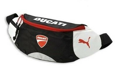 Ducati Puma Motorcycle Black Boom Bag Bike Riding Waist Pack Pouch Sport Wallet