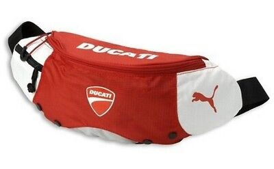 Ducati Puma Motorcycle Red Boom Bag Bike Riding Waist Pack Pouch Sport Wallet