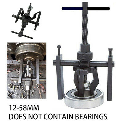 Auto 3-Jaw Pilot Inner Bearing Puller Tool Kit Bushing Gear Extractor Motorcycle