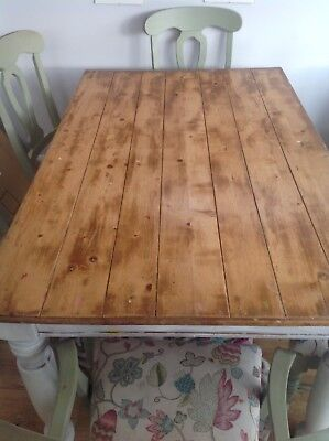Dining Table and 6 chairs / Farmhouse Kitchen / Dining Room