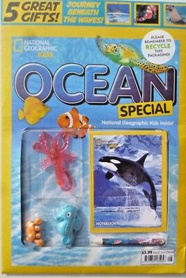 National Geographic Kids Magazine August 2018 ~ Ocean Special ~