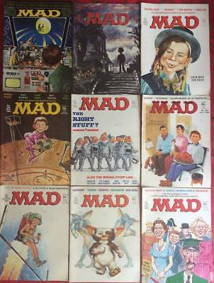 Job Lot UK Mad Magazine Issues 262/263/264/265/266/267/268/269/270