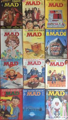 Job Lot UK Mad Magazine Issues 271/272/273/274/275/276/277/278/278/280/286/287