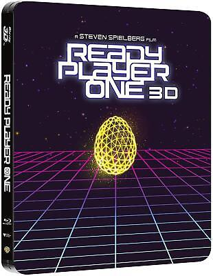 Ready Player One 3D + 2D Blu-Ray Steelbook Edicion Caja Metalica España