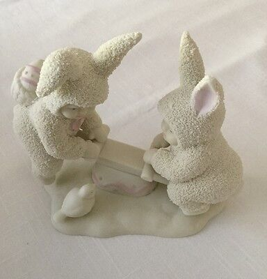 "Springtime Stories of the Snowbunnies-Dept 56-""I'm Teeter, You're Totter""-1995"