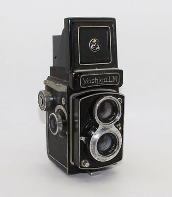 Yashica LM TLR Medium Format Camera 120 Film with working meter and case c.1956