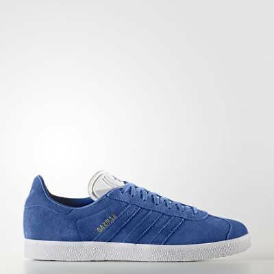 Brand New In Box - Adidas Gazelle Shoes Trainers - Blue - Sz 8