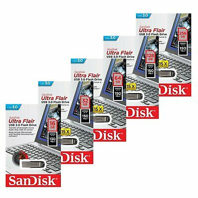 Sandisk 16GB 32GB 64GB 128GB SDCZ73 USB 3.0 Flash Speicherstick R:150MB/s SEP