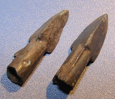 Ancient arrowheads armor-piercings 7 - 2 nd century BC bronze. RARE. ORIGINAL