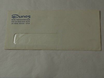 Vintage DUNES HOTEL and Country Club Las Vegas Commercial Envelope