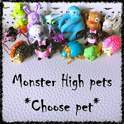 MONSTER HIGH Doll's Pets ~SELECT PET~ 1 incl.