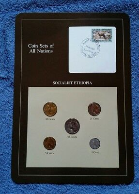 Coin Sets Of All Nations - Socialist Ethiopia