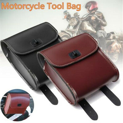 Motorbike Motorcycle Mini Luggage Saddle Sissy Bags Pannier Side Tool Box CB