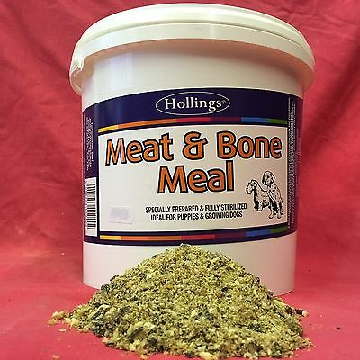 Meat & Bone Meal For Whelping Dogs Puppies Calcium Phosphorus Sterilised 100grms