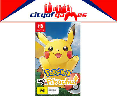 Pokemon Lets Go! Pikachu Nintendo Switch SWI Brand New In Stock