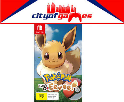 Pokemon Lets Go! Eevee Nintendo Switch SWI Brand New In Stock