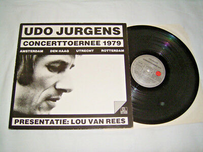 LP - Udo Jürgens Concerttoernee - Ariola 1979 Dutch Tour # cleaned