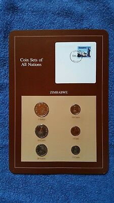 Coin Sets Of All Nations - Zimbabwe