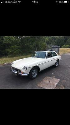 Mgb Gt White Fully Restored Tax And Mot Excempt