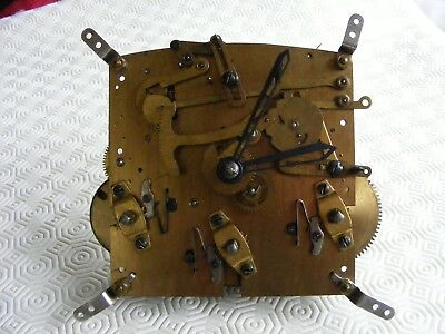 Original Vintage British Anvil Westminster Chime Clock Movement Spares or Repair