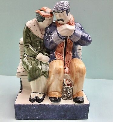 Rye Pottery Figural Group ~ Lovers - True Love