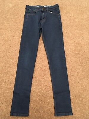 Next Boys Blue Super Skinny Jeans - Age 12 years