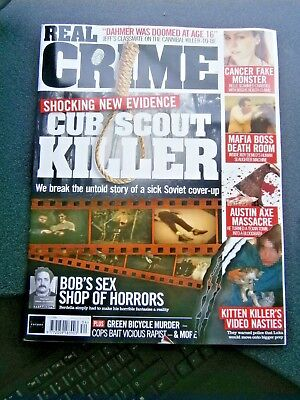 Real Crime Magazine Issue 34 (new) 2018