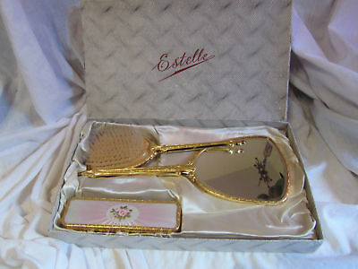 A Vintage Estelle Ladies Dressing Table Set