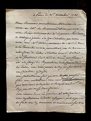 1731 Old Document on Paper