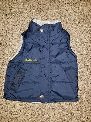 Baby Boys 12 Month Timberland Navy Blue Puffer Vest