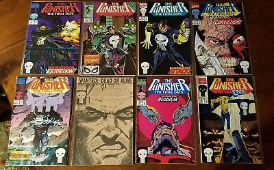 MARVEL PUNISHER Lot - 9 issues VF/NM includes 2 copies of #57