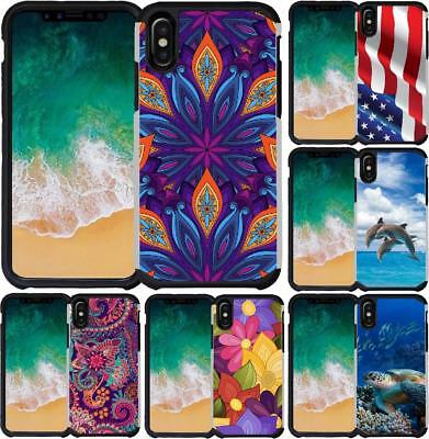 For iPhone XS I XS Max I XR 2018 Slim Hybrid Case Shockproof Phone Cover
