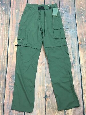 Boy Scouts of America Relaxed Green Nylon Switchback Uniform Pants Men's M NWT