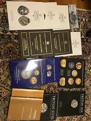 CNG Classical Numismatic Group - Gemini, Triton Auction Catalogs and More