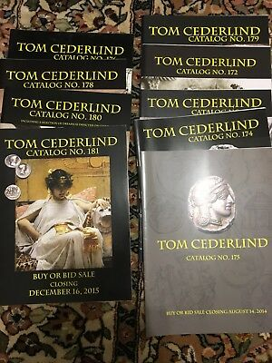 Tom Cederlind Ancient Coin Catalogs