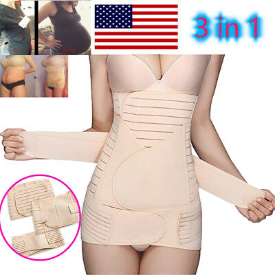 Postpartum Support Belt Recovery Belly Band Girdle Corset Body Shaper Maternity