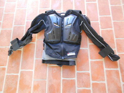 Motocross Motorcycle Protective Body Armour - Evs Balistic Jersey-  Large