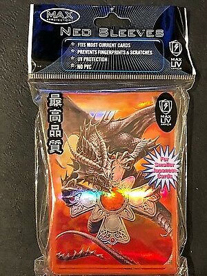 Max Protection Neo Sleeves DRAGON PROWLER 50 Count 7060 CTD Mint Fast Shipping!