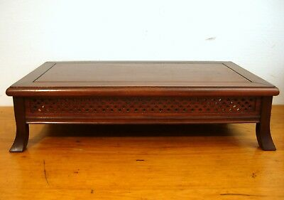 Antique Chinese Scholar's Table LOW Rosewood 6 In. Tall