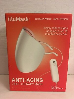 illuMask Anti Aging Light Therapy Mask - Brand New In Box!